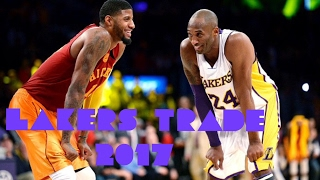 Paul george trade to lakers?! 2017 randle?!