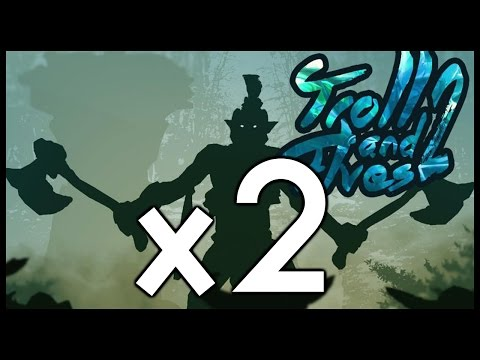 Dota 2 Mods | TROLL AND ELVES 2 X2!!