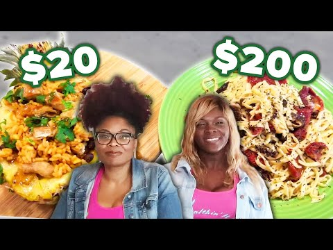 $20 Vs. $200 Vegan 3-Course-Meal