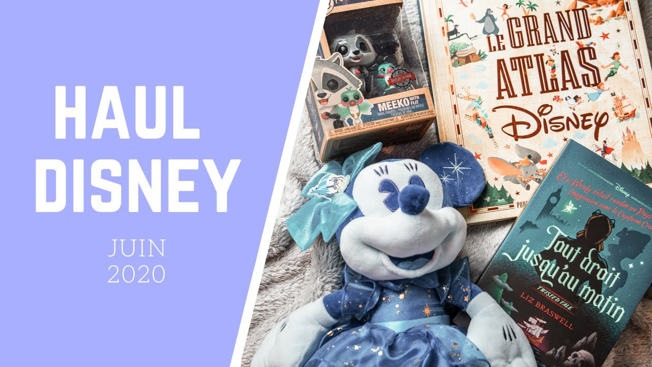 [#42] HAUL DISNEY : SHOPDISNEY, FUNKO POP, LIVRES... 🛍