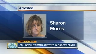 Woman arrested in connection to fiance's murder