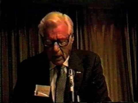 Whitney Harris 1996 on his Nuremberg boss, Justice Robert H. Jackson pt. 2