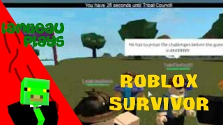 Lambeau Plays Roblox Survivor Episode 5
