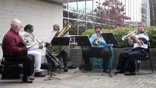 UNCW Brass Quintet at Cape Fear Community College - Song 5