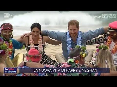 Harry e Meghan, nuova vita lontani dalla corona - La vita in diretta 23/01/2020