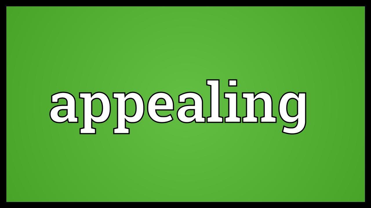 Apealing
