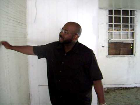 Corey L. Robinson talks about plans for the Historic Peoples Barbershop in Orangeburg,SC