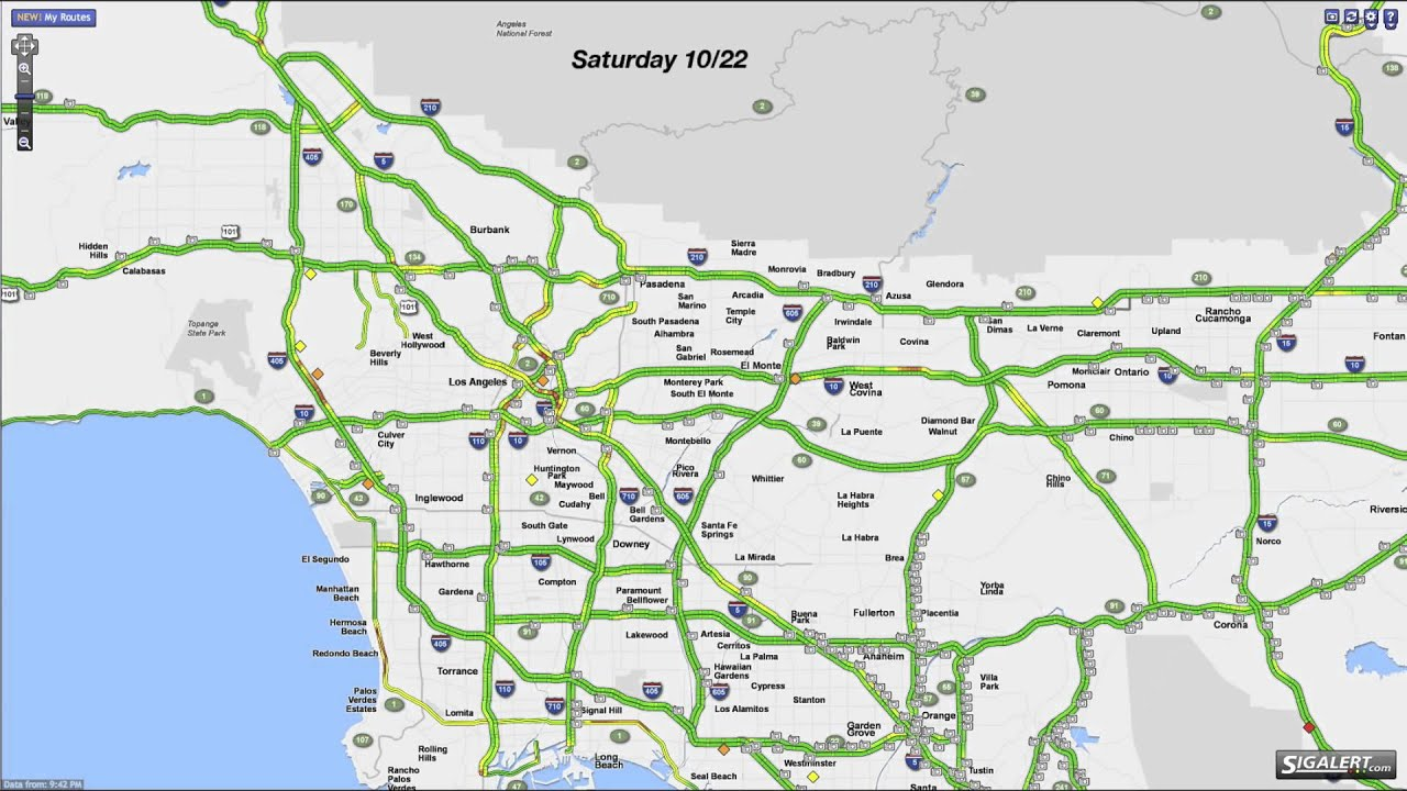 Sigalert Time Lapse on sigalert dallas map, sigalert inland empire map, sigalert portland map,