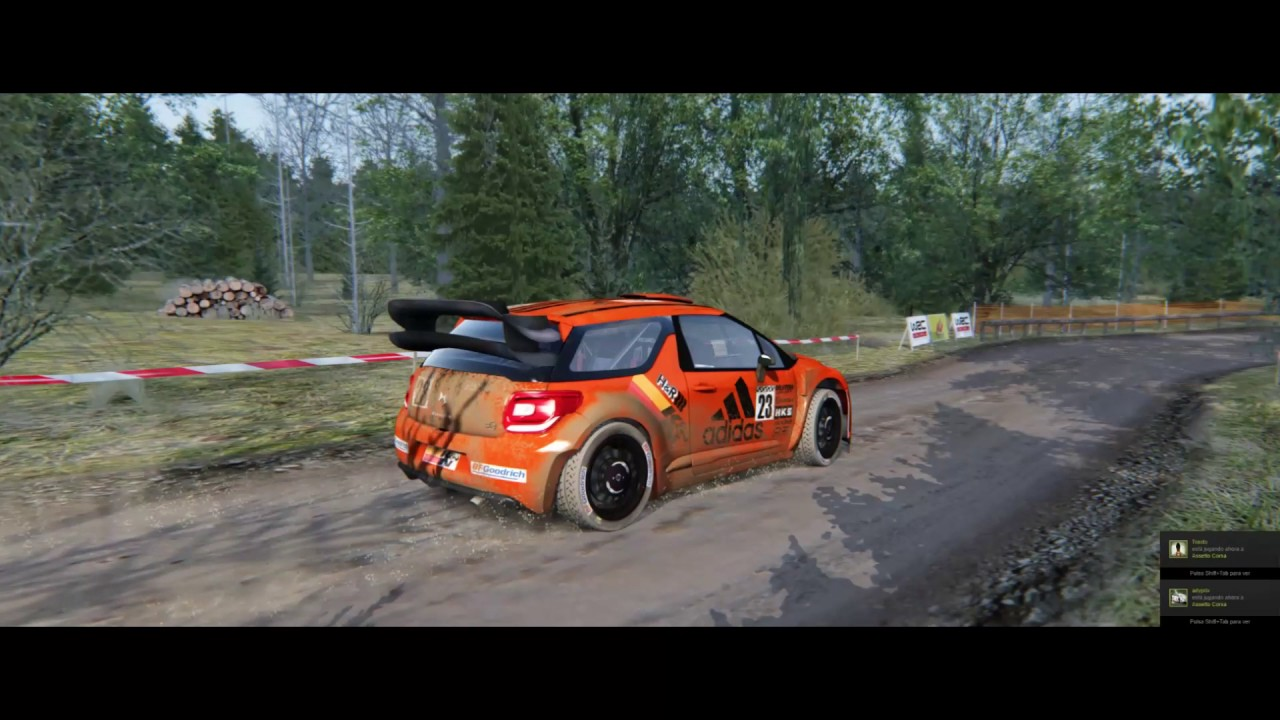 Forest Rally / Assetto Corsa / Gameplay
