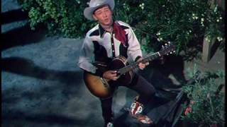 Roy Rogers sings CALIFORNIA ROSE to Jane Russell in THE SON OF PALEFACE