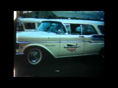 Riverside International Speedway 1950s A Day at the Track 8mm Home Movie