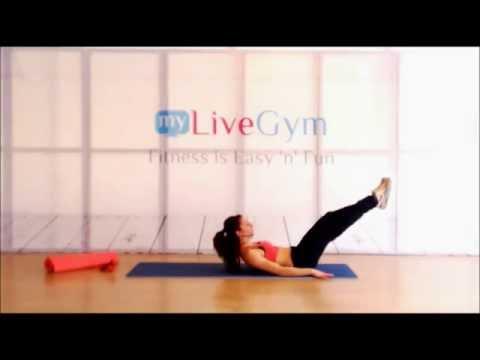 Ασκήσεις στο σπίτι για σφιχτούς κοιλιακούς - mygymgr