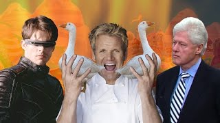 Gordon Ramsay, Cyclops & Bill Clinton in Candy Land (the new segment)