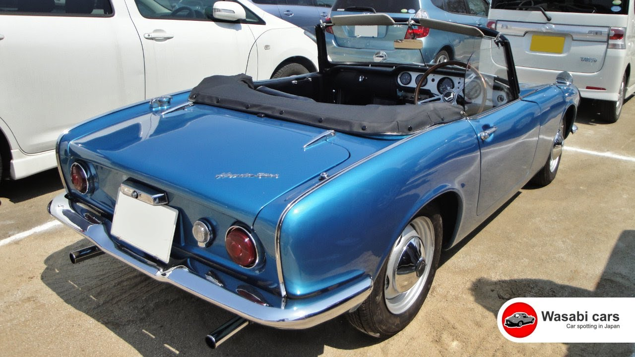 Spotted: A Classy 1964 Honda S600 Convertible   YouTube