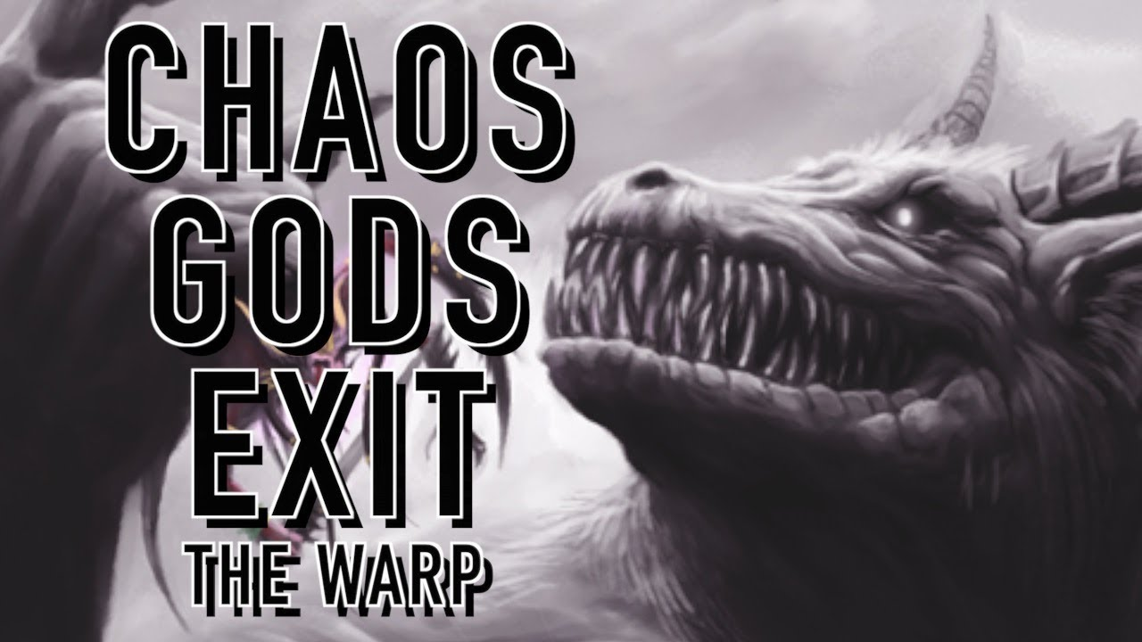 Can the Chaos Gods Exist Out of the Warp in Warhammer 40K ... Warhammer 40k Good Chaos Gods