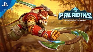 Paladins | Tiberius, The Weapon's Master - Cinematic Teaser | PS4
