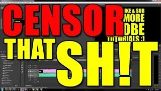 How to Censor Swear Words In Adobe Premiere + FREE Censor Beep Download