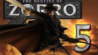 The Destiny of Zorro (Wii) Walkthrough Part 5