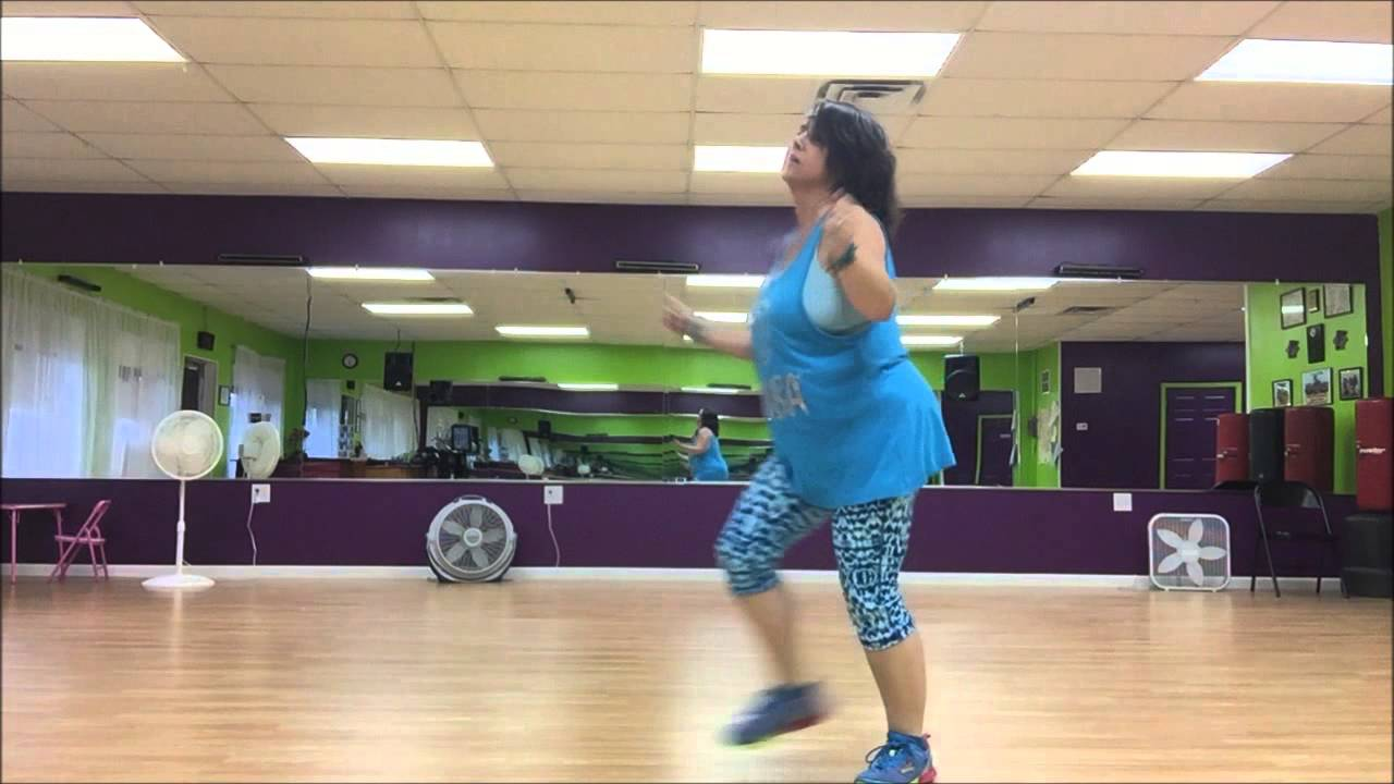 Greased Lightning  (Glee Cast) Zumba Routine & Greased Lightning