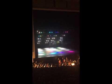 Lights dancing with Italia in Algeri of Rossini at Wiener staatsoper