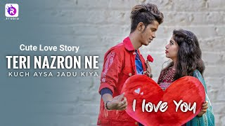 Teri Nazron ne Kuch Aisa Jadu Kiya | Cute love Story 2020 | Ft : arian & Mimo | Hindi hit Song 2020