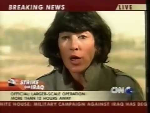 Iraq War Live - Part 4 - The First Strike (10 News, Australia)