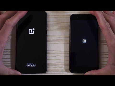OnePlus 5T Oreo vs Xiaomi Mi6 MIUI 9 - Speed Test!
