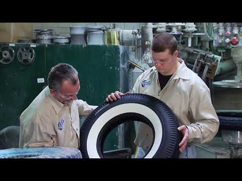 How Whitewall Tires Are Made Coker Tire Company