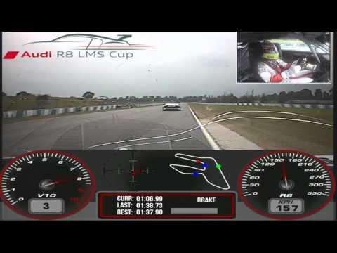 Audi R8 LMS Cup Zhuhai 2012 Rd 2 - Alex Yoong on Hot Pursuit