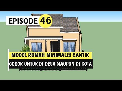 rumah minimalis di desa