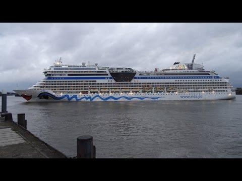 AIDAsol von Hamburg nach Ijmuiden und Dover