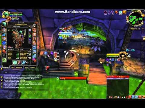 Affliction Warlock dps rotation 3.3.5 WOTLK