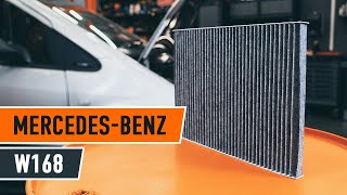 Montage MERCEDES-BENZ A-CLASS (W168) Pollenfilter: kostenloses Video