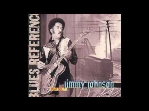 Jimmy Johnson ~ ''You Don't Know What Love Is''(Modern Electric Blues)