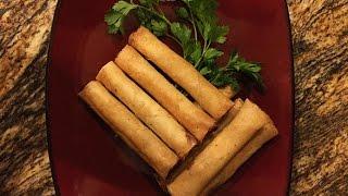 Shrimp and Pork Lumpia (Filipino Springrolls)