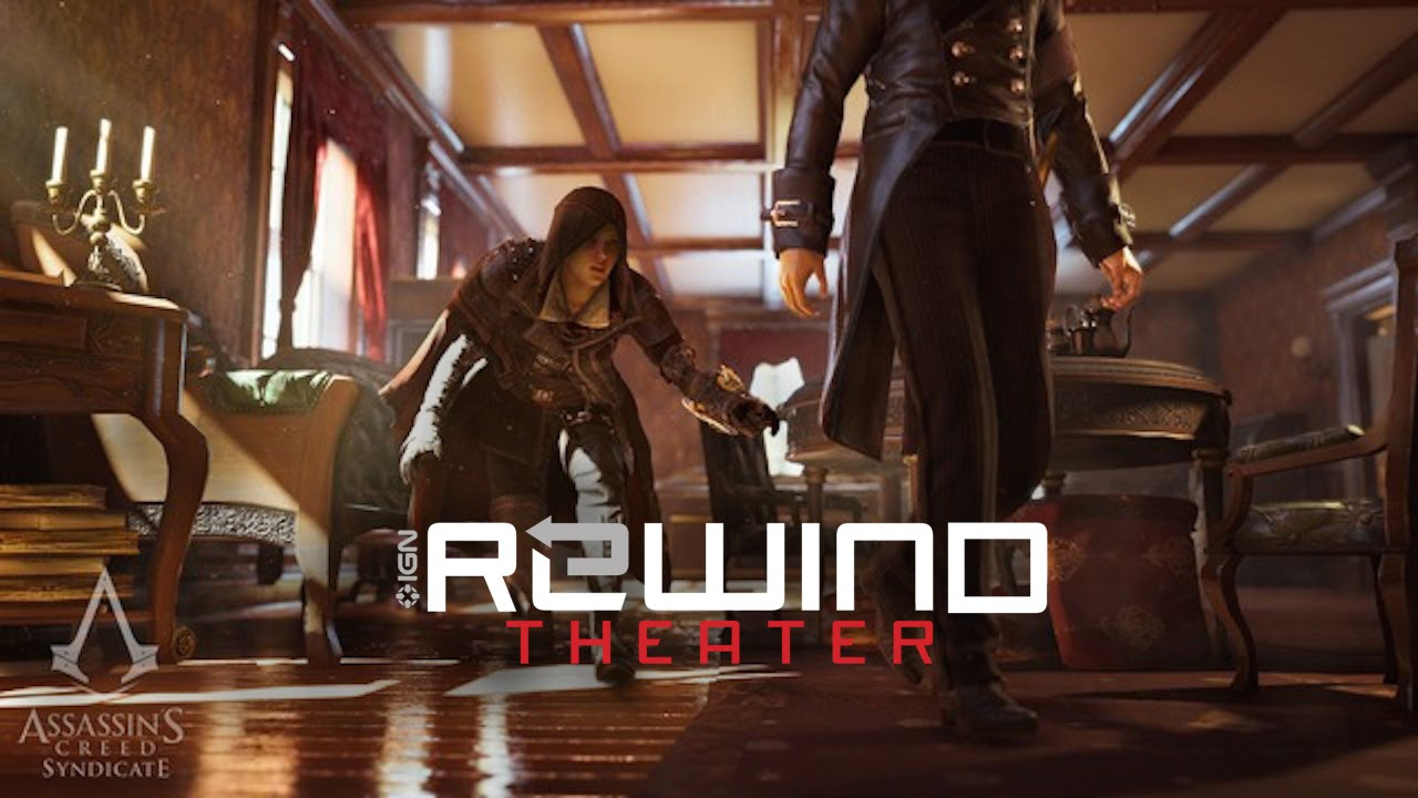 Assassin's Creed Syndicate Twin Assassins Trailer - Rewind ... Jon Ryan Ign