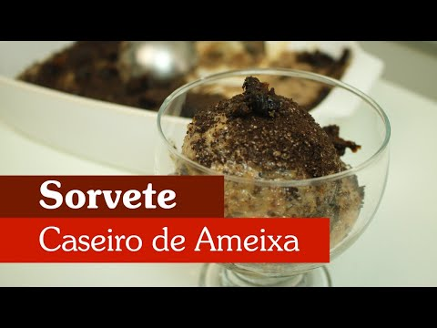 SORVETE CASEIRO DE AMEIXA