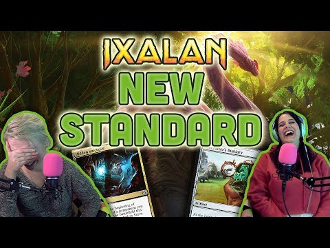 What's New in Ixalan Standard? U.S. Nationals + Draft for Magic the Gathering (Mtg)
