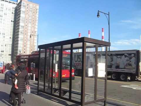 Roosevelt Island Operating Corporation bus at Riverwalk Towers