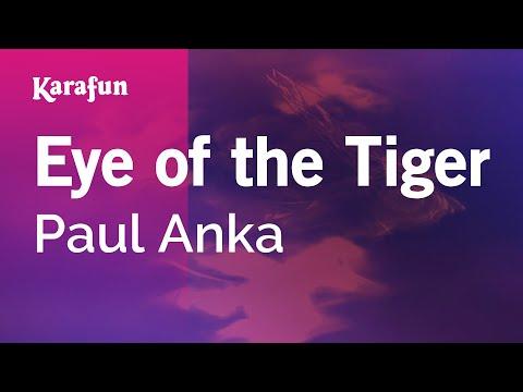 Karaoke Eye Of The Tiger - Paul Anka *