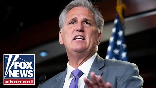McCarthy: Dems fixated on tearing down Trump, not fixing country's problems