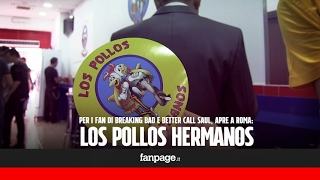 Apre Los Pollos Hermanos a Roma, in fila i fan di Breaking Bad e Better Call Saul