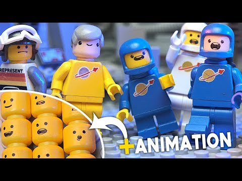 Print Your Own LEGO Heads | How To Print On LEGO for LEGO Stop-Motion Animation Brickfilm