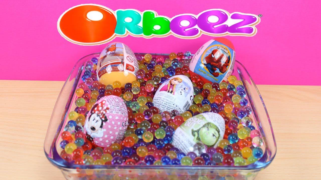 Piscina de bolas de orbeez y huevos sorpresa en espa ol for Piscina de bolas toysrus
