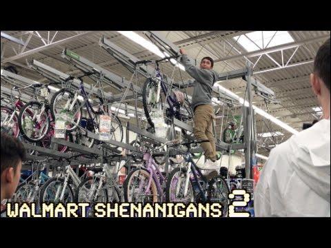 WALMART SHENANIGANS! (GALLON SMASHING)
