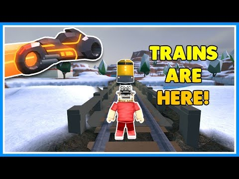 🔴JAILBREAK UPDATE HERE! | TRAINS! | Roblox Live | JAILBREAK WINTER UPDATE! | JOIN US!!
