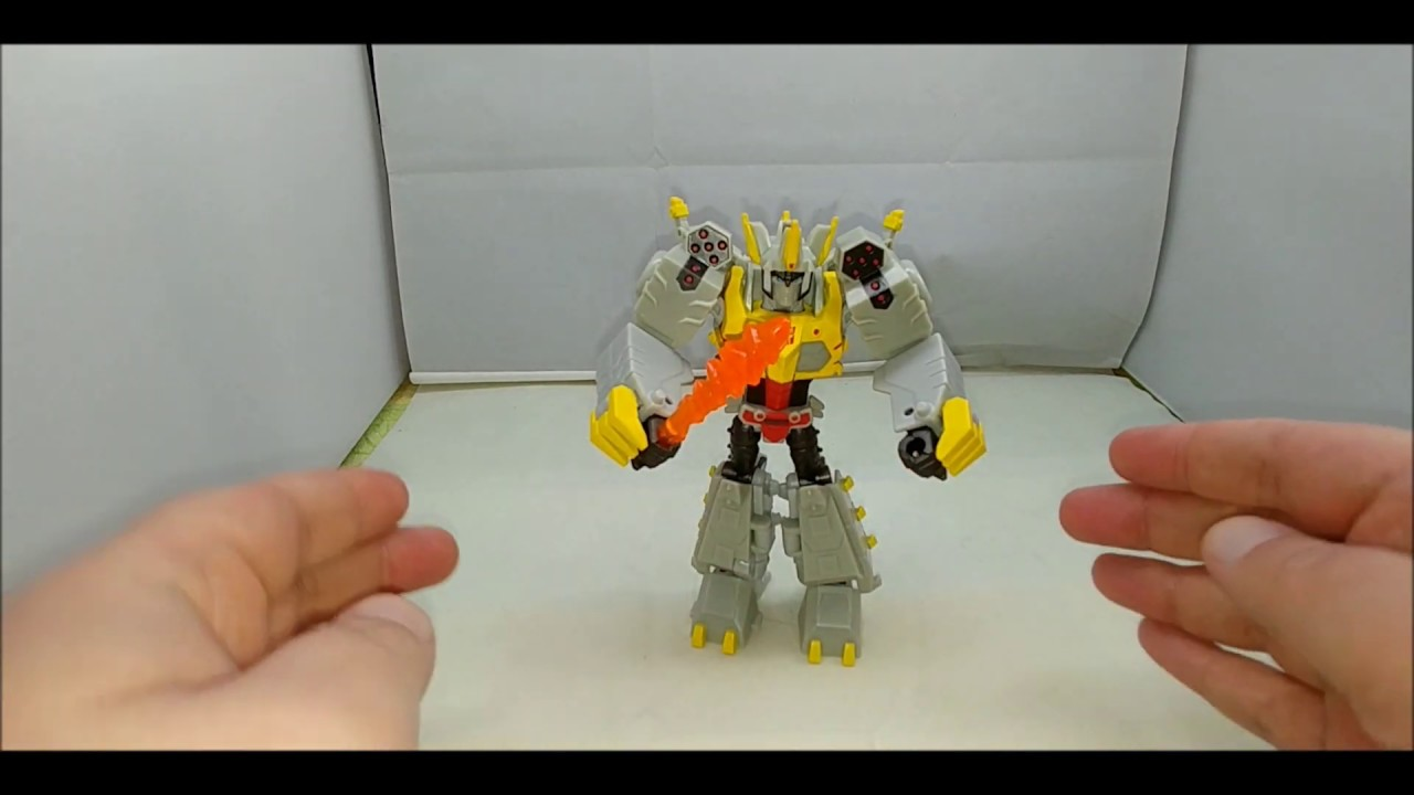 Chuck's Reviews Transformers Cyberverse Deluxe Class Grimlock