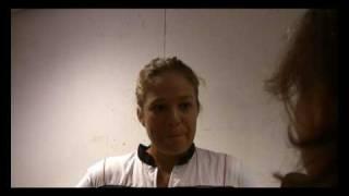 Sophie Ferguson at Roland Garros