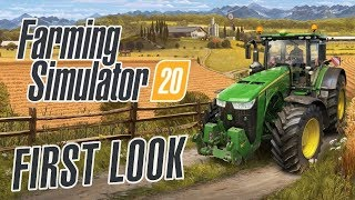 Farming Simulator 20 | FIRST LOOK Gameplay