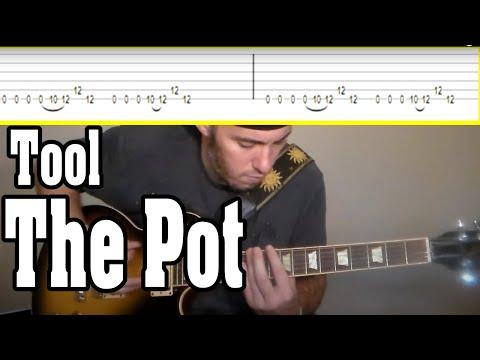 Tool - The Pot Guitar Tutorial w/TABS